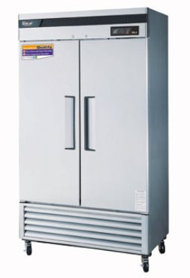 "Turbo Air TSF-35SD 39.5"" Two Section Reach-In Freezer, (2) Solid Doors, 115v"