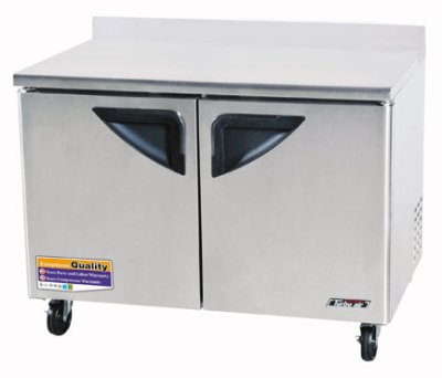 "Turbo Air TWR-48SD 48.2"" Work Top Refrigerator w/ (2) Sections, 115v"