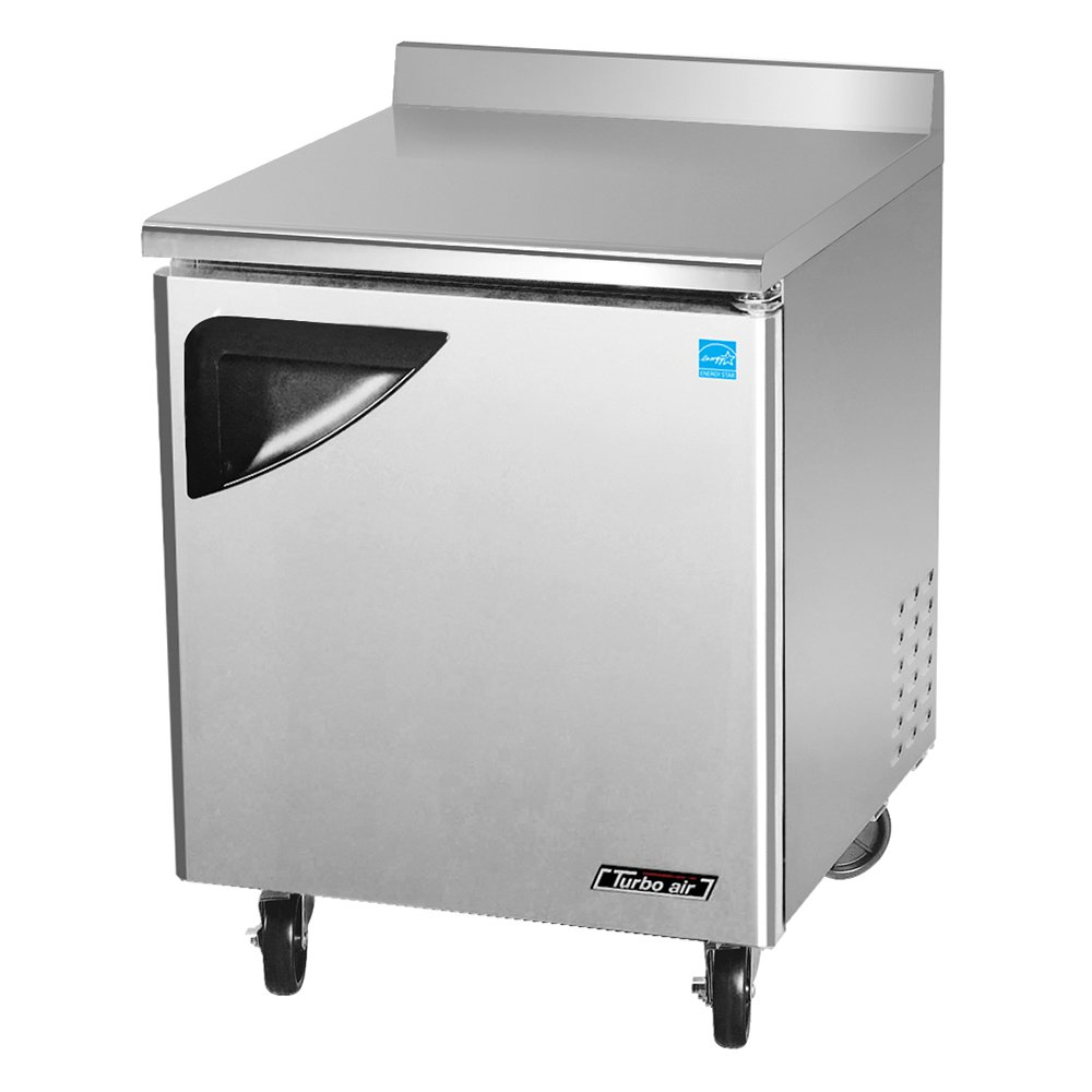 Turbo Air TWF-28SD 7-cu ft Worktop Freezer w/ (1) Section & (1) Door, 115v