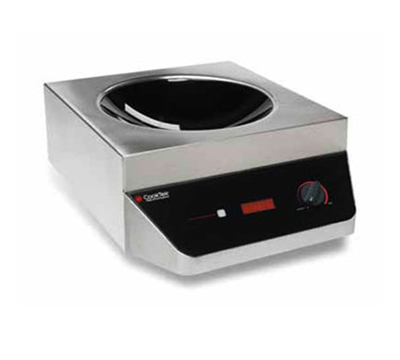 Cook-Tek MWG5000-400 Countertop Commercial Induction Wok Unit, 376-424v/3ph