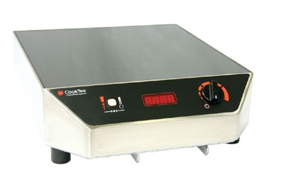 CookTek MC1500 Countertop Commercial Induction Cooktop w/ (1) Burner, 120v