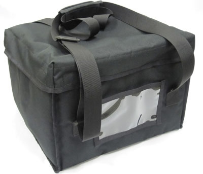 Cook-Tek TCSBAG Small Thermal Delivery Bag w/ Ticket Window, 12 x 12.5 x 7-in