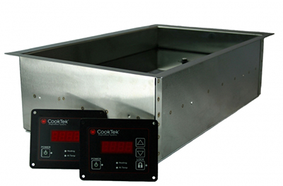 "CookTek IHW061-36 Drop-In Induction Hot Food Well - 6"" Deep, 100-125v/50/60Hz/1-ph"