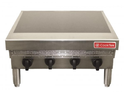 CookTek MC14004-200 Countertop Commercial Induction Range w/ (4) Burners, 220v/3ph