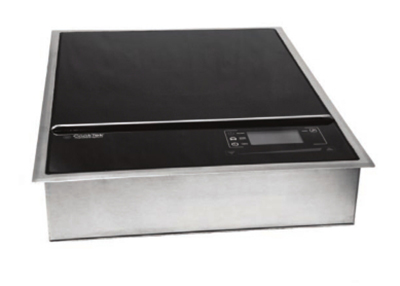 CookTek MCD3000G Drop-In Commercial Induction Cooktop w/ (1) Burner, 200-240v/1ph