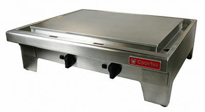 "CookTek MPL362CS-400 36"" Countertop Induction Plancha - Steel Plate, 400v"