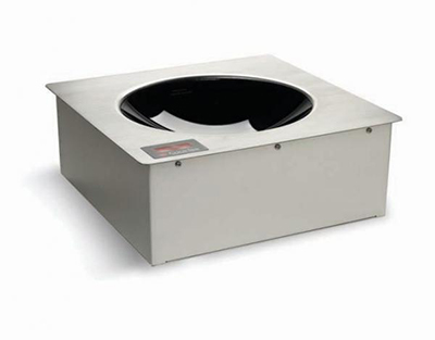 CookTek MWDG3000 Drop-In Commercial Induction Wok Unit, 200-240v/1ph