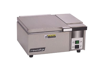 "Roundup DFW-100 16.63"" Sandwich Steamer w/ Manual Water Fill, 120v"