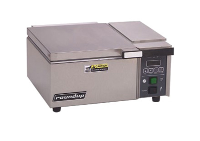 "Roundup DFW-150 16.63"" Sandwich Steamer w/ Manual Water Fill, 120v"