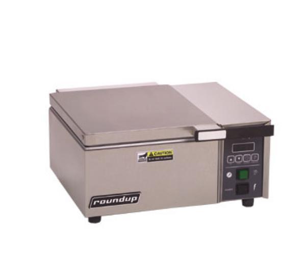 "Roundup DFWF-250 26.88"" Sandwich Steamer w/ Auto Water Fill, 208v/1ph"