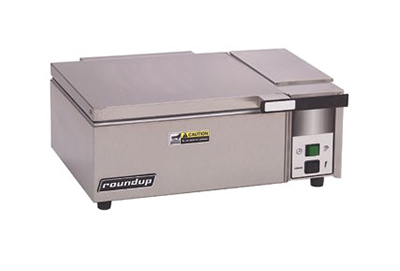 "Roundup DFWT-100 20"" Sandwich Steamer w/ Manual Water Fill, 120v"