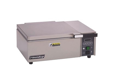 "Roundup DFWT-250 20"" Sandwich Steamer w/ Auto Water Fill, 120v"