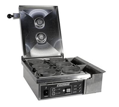Roundup ES-604 Heat/Steam Egg Station Combo, Cooks 6-Eggs Max, 208V