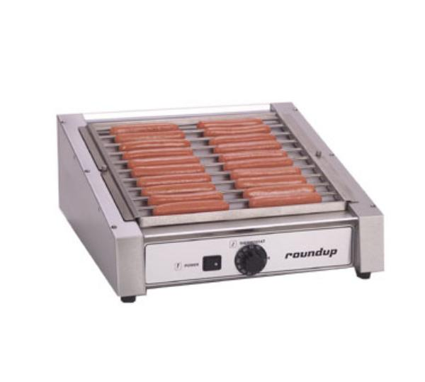Roundup HDC-20 20 Hot Dog Roller Grill - Slanted Top, 120v