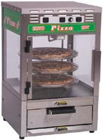Roundup PS-316 Pizza Station, Oven, Cooks (1) 16-in Pizza, Displays Three