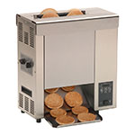 Roundup VCT-2000_9210116 Vertical Toaster w/ 10-Sec Pass-Thru Time & 2-Sided Toasting, 208v/1ph