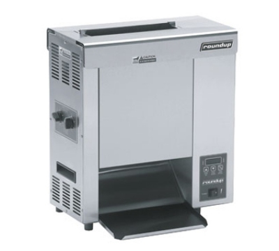 Roundup VCT-2000_9210300 Countertop Vertical Toaster, Heated Landing Zone, Approx 10-Sec.