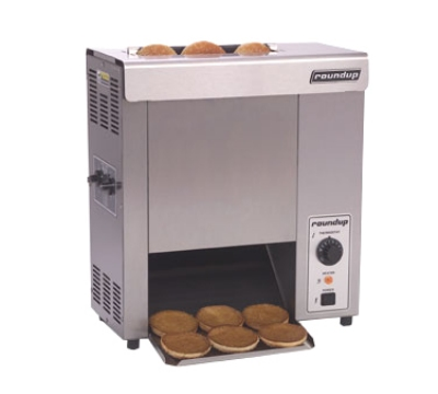Roundup VCT-50_9200606 Countertop Vertical Toaster, Approx. 50-sec Pass Thru, 230-240 V