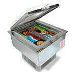 "Silver King SKEDI23-TL-1-BA1 23"" Drop-In Ice Cream Freezer w/ (2) Sections, 115v"