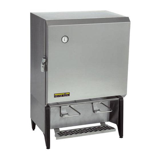 Silver King SKMAJ2/C4 12-gal Refrigerated Milk Dispenser - Stainless, 115v