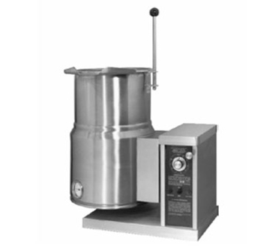 Accutemp ACEC-6TW 2403 Countertop Tilt Kettle w/ Handle & 6-gal Capacity, Stainless, 240/3 V