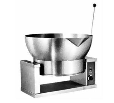 Accutemp ACECTRS-16 2081 Tilting Skillet w/ Round Pan & 16-gal Capacity, Thermostatic, 208/1 V