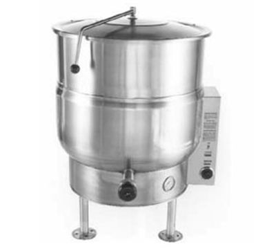 Accutemp ACEL-100 208 Stationary Steam Kettle w/ 100-gal Capacity, Stainless, 208/3 V