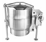 Accutemp ACELT-40 2401 Tilting Kettle w/ Crank & 40-gal Capacity, Stainless, 240/1 V