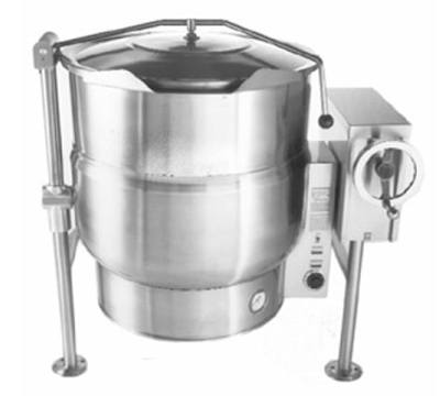 Accutemp ACELT-40F 2081 Tilting Kettle w/ Crank & 40-gal Capacity, Full Jacket, Stainless, 208/1 V