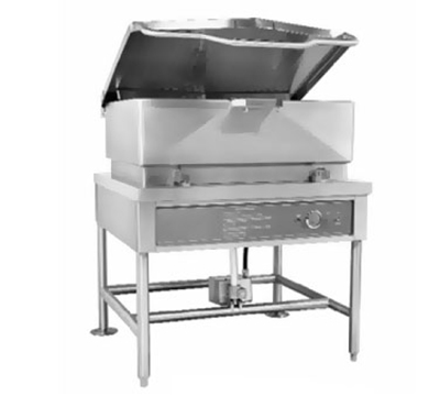 "Accutemp ACELTS-30 2201 30-gal Tilting Skillet w/ 5/8"" Plate, Stainless, 220v/1ph"