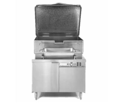 Accutemp ACEMTS-40 2083 Tilting Skillet w/ 40-gal Capacity & Hydraulic Tilt, Stainless Cover, 208/3 V