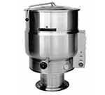 Accutemp ACEP-100 220 Stationary Steam Kettle w/ 100-gal Capacity & Pedestal Base, Stainless, 220/3 V