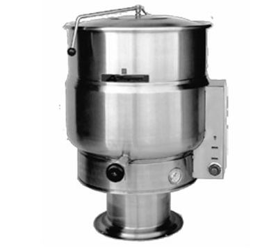 Accutemp ACEP-40 2203 Stationary Steam Kettle w/ 40-gal Capacity & Pedestal Base, Stainless, 220/3 V