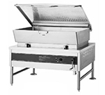 Accutemp ACES-40 2081 Tilting Skillet w/ Pan & Cover, 40-gal Capacity, Manual Tilt, 208/1 V