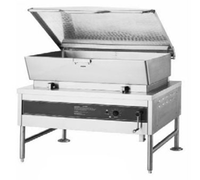 Accutemp ACES-40 2401 Tilting Skillet w/ Pan & Cover, 40-gal Capacity, Manual Tilt, 240/1 V
