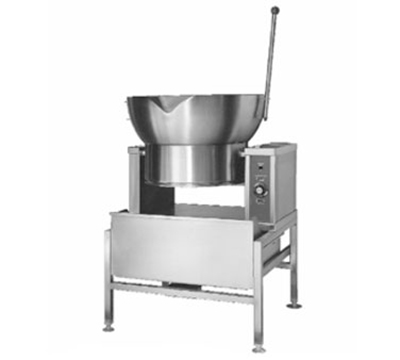 Accutemp ACGCTRS-16 NG Tilting Skillet w/ 16-gal Capacity & Round Pan, Solid State Thermostatic, NG