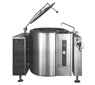 Accutemp ACGLT-30 LP Twin Console Tilting Kettle w/ 30-gal Capacity, Manual Tilt, Stainless, LP