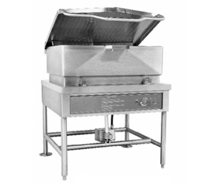 Accutemp ACGLTS-40 LP Tilting Skillet w/ Pan & Cover, 40-gal Capacity, Stainless, LP
