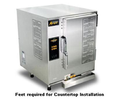 Accutemp E62081D060 Electric Countertop Steamer w/ (6) Full Size Pan Capacity, 208v/1ph