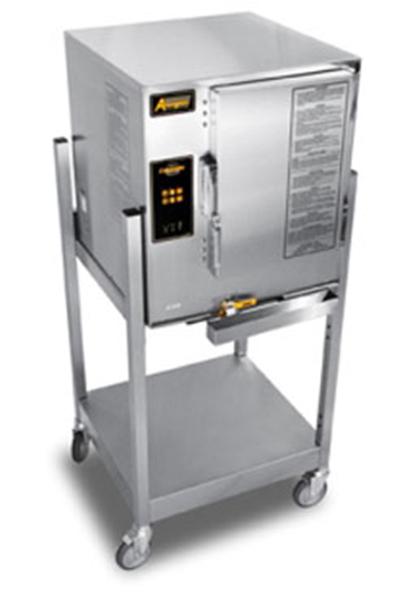 Accutemp E62081D060 SGL Electric Floor Model Steamer w/ (6) Full Size Pan Capacity, 208v/1ph