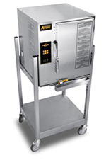 Accutemp E62083D150SGL Electric Floor Model Steamer w/ (6) Full Size Pan Capacity, 208v/3ph
