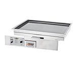 "Accutemp EGD2403B3600-00 Drop-In Griddle, 34 x 23.5"", Stainless, 9.5kw, 240/3 V"