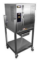 Accutemp N61201D060SGL Boilerless Convection Steamer w/ Stand & 6-Pan Capacity, 60000-BTU, NG