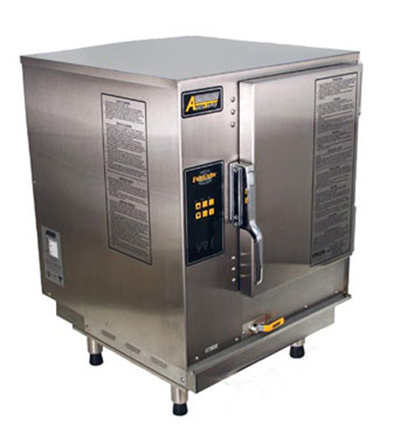 Accutemp P61201D060 Boilerless Convection Steamer w/ 6-Pan Capacity, Countertop, 60000-BTU, LP