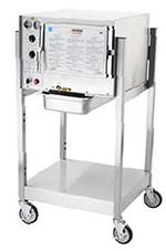 Accutemp S34403D090SGL Electric Floor Model Steamer w/ (3) Full Size Pan Capacity, 440v/3ph