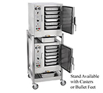 Accutemp S62083D080DBL Electric Floor Model Steamer w/ (12) Full Size Pan Capacity, 208v/3ph