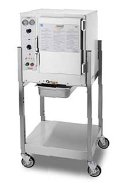 Accutemp S62083D100SGL Convection Steamer w/ Stand & 6-Pan Capacity, 10kw, 208/3 V