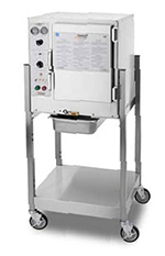 Accutemp S64403D120SGL Electric Floor Model Steamer w/ (6) Full Size Pan Capacity, 440v/3ph