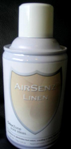 Control Zone F003 AirSenz Fragrances, 6 oz, Covers 6000 cu. ft., Linen