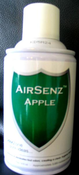 Control Zone F004 AirSenz Fragrances, 6 oz, Covers 6000 cu.ft., Apple